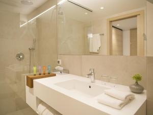 A bathroom at Hotel Kompas