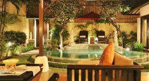 The swimming pool at or near The Sanyas Suite Bali