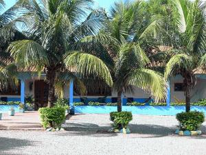 The swimming pool at or near Hotel Lago Azul