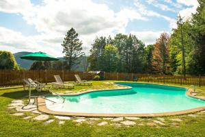 The swimming pool at or near Trapp Family Lodge
