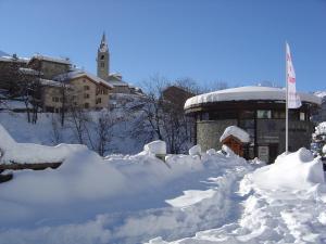 La Joubarde during the winter