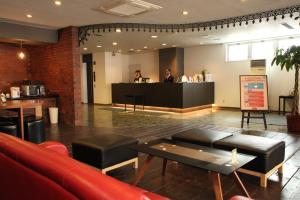 The lobby or reception area at Frame Hotel Sapporo