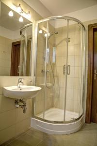 Łazienka w obiekcie Willa Czarniakówka