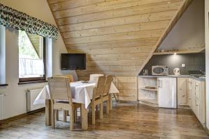 Kuchnia lub aneks kuchenny w obiekcie Willa Czarniakówka
