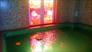 The swimming pool at or close to Nefelejcs Hotel