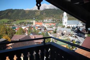 Balkón nebo terasa v ubytování Bella Vista Appartements by Schladming-Appartements