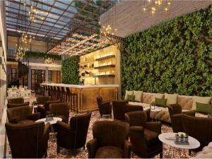 The lounge or bar area at Four Seasons Hotel Casa Medina Bogota