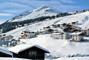 Chalet Schneekristall im Winter