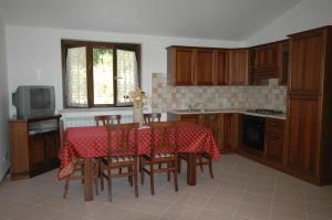 Cucina o angolo cottura di La Locanda San Lorenzo