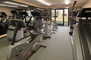 The fitness center and/or fitness facilities at Millennium Durham