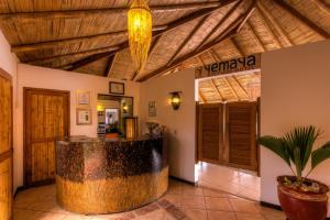 The lobby or reception area at Yemaya Boutique Hotel en Canoas