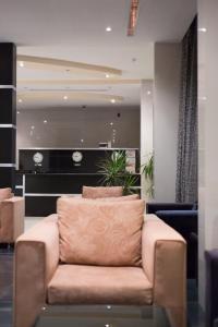 O saguão ou recepção de Al Taif Suites