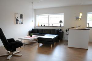 Et opholdsområde på Hotel Strandvejen Apartment 3