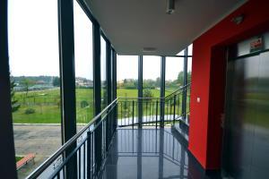 Ein Balkon oder eine Terrasse in der Unterkunft Motel Polonus
