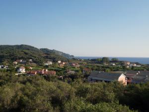 A bird's-eye view of Villa Helen
