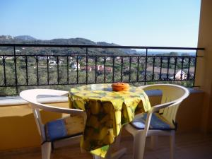 A balcony or terrace at Villa Helen