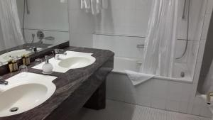 A bathroom at Hotel Unger