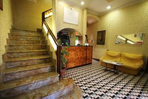 The lobby or reception area at Hotel Casanova