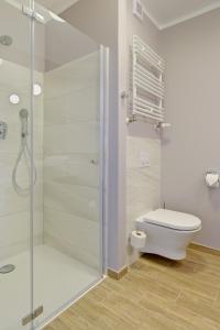 A bathroom at Hotel Trzy Wyspy