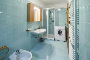 Un baño de Villa Lacedel - Stayincortina