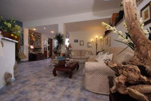 The lobby or reception area at Hotel Sant'Andrea