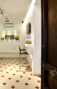 The lobby or reception area at Santi e Saraceni