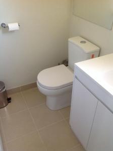 A bathroom at Coach House Inn