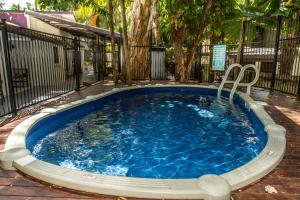 The swimming pool at or near Cairns Beaches Flashpackers