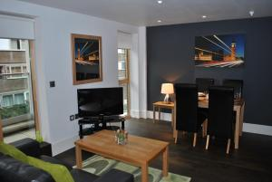 A television and/or entertainment center at Clerkenwell One