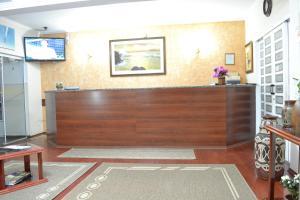 The lobby or reception area at Hotel Rafeli