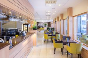 A restaurant or other place to eat at Hotel Bratislava