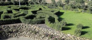 Jardín al aire libre en B&B Manoir du Clos Clin