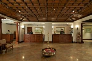 Lobbyen eller receptionen på Taj Malabar Resort & Spa, Cochin.