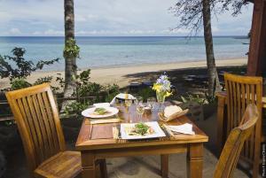 Restaurant ou autre lieu de restauration dans l'établissement Le Jardin Maore