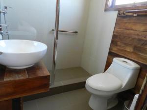 Ванная комната в Aroma Verde Hotel
