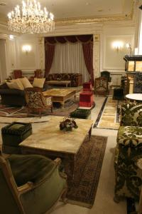 A seating area at Savoy