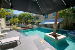 The swimming pool at or near The Beach Cabarita