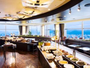 A restaurant or other place to eat at JR Tower Hotel Nikko Sapporo