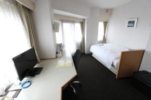 A television and/or entertainment centre at Smile Hotel Tokyo Tamanagayama