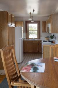 A kitchen or kitchenette at The Swan Hotel
