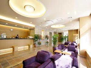 The lobby or reception area at Hotel Route-Inn Hamanako