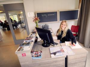 Hall o reception di Lofoten Vandrerhjem Kabelvåg