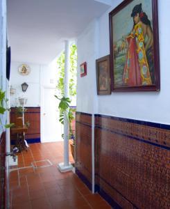 Hall o reception di Pensión Santa María la Blanca