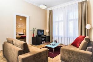 Posezení v ubytování Residence Karolina