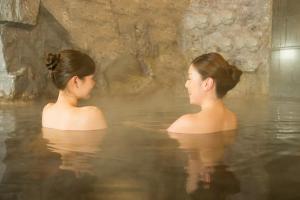 Kolam renang di atau di dekat Premier Hotel -CABIN- Asahikawa