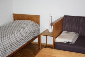 En eller flere senge i et værelse på Løgumkloster Refugium