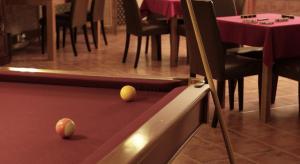 Mesa de billar en Hotel Real d Obidos