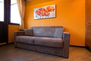 Posezení v ubytování Ariete Apartments