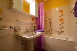Koupelna v ubytování Ariete Apartments