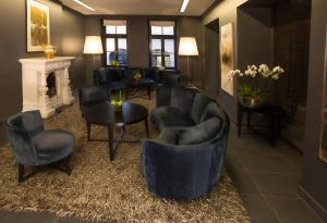 The lobby or reception area at Hotel Bergs – Small Luxury Hotels of the World
